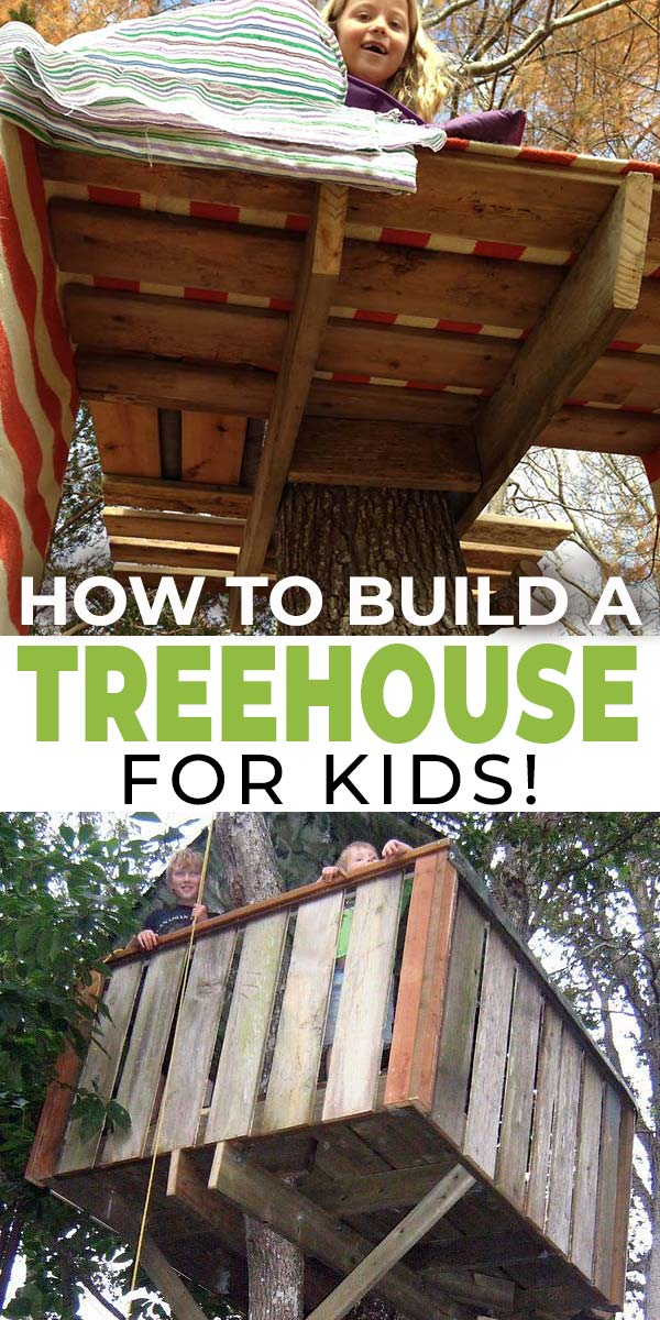 How to Build a Treehouse for Kids!