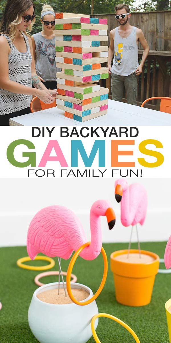 DIY Backyard Games for Family Togetherness!