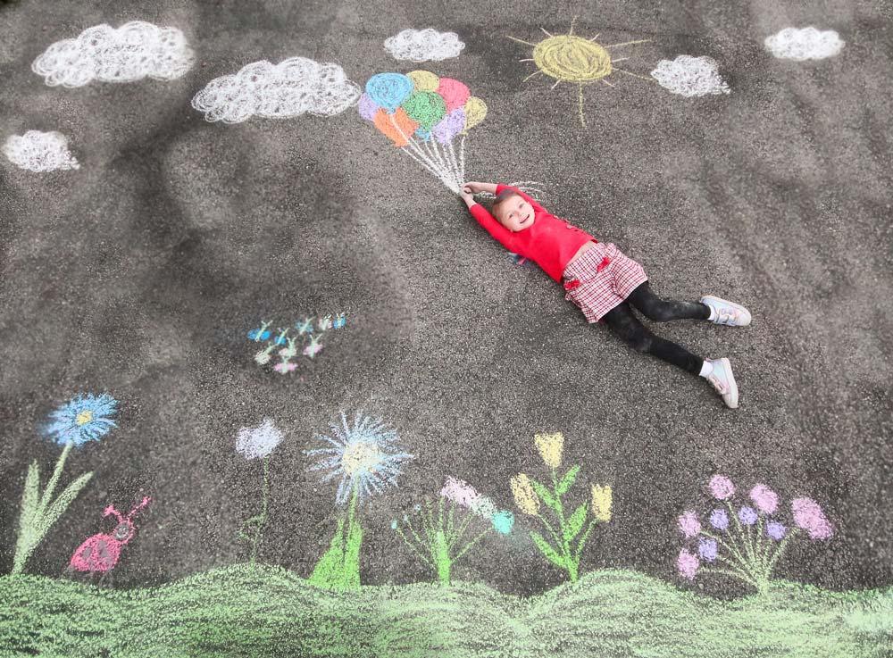 20 Easy Sidewalk Chalk Art Ideas for Everyone to Try!