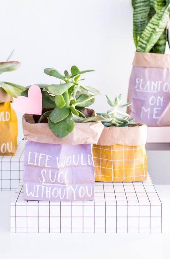 DIY Christmas Plant Gift Ideas