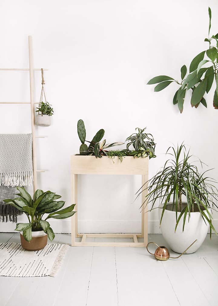 13 Cool & Creative DIY Plant Stand Ideas