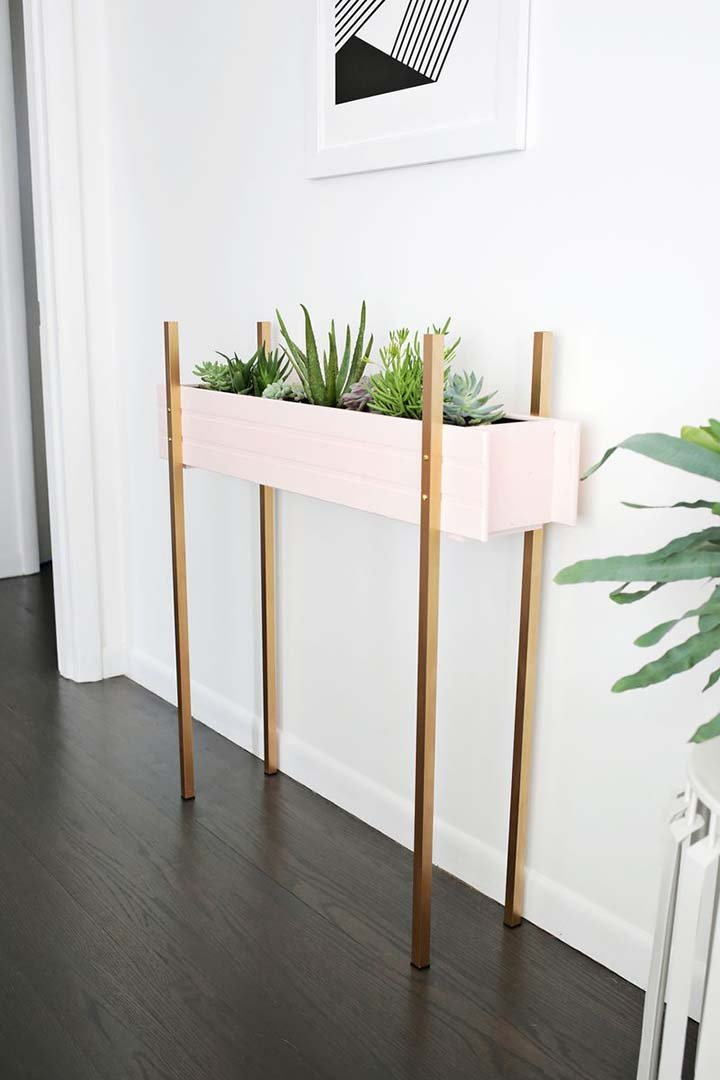 13 Cool Creative Diy Plant Stand Ideas The Garden Glove