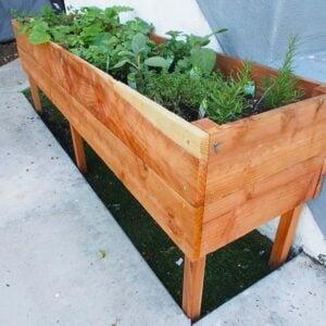 DIY Raised Planter Box Plans & Tutorials