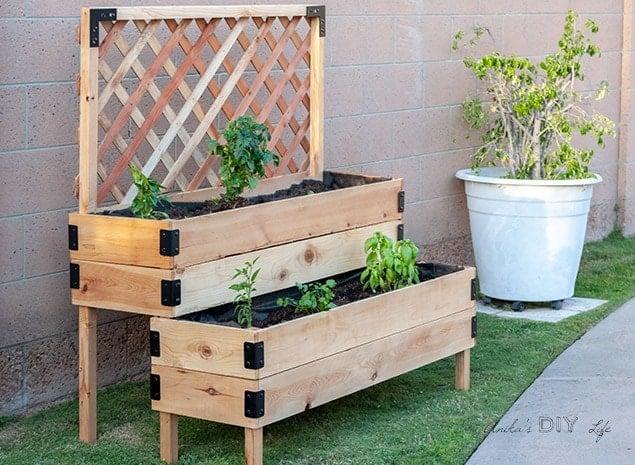 Diy Raised Planter Box Plans, Diy Raised Garden Planter Plans